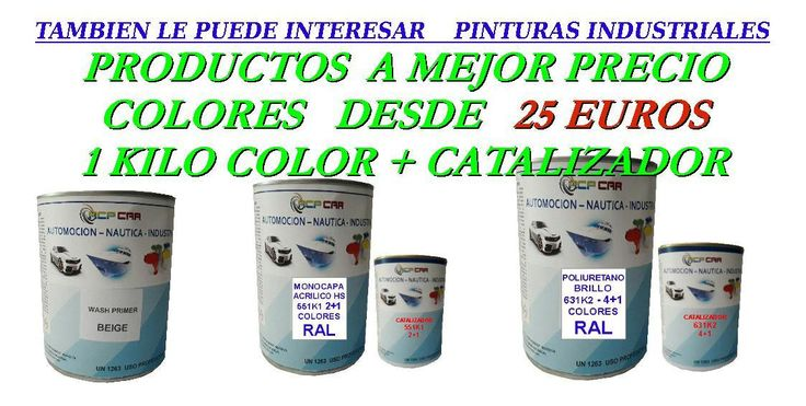 PINTURAS  PARA INDUSTRIA- POLIURETANOS-CLOROCAUCHO-IMPRIMACION