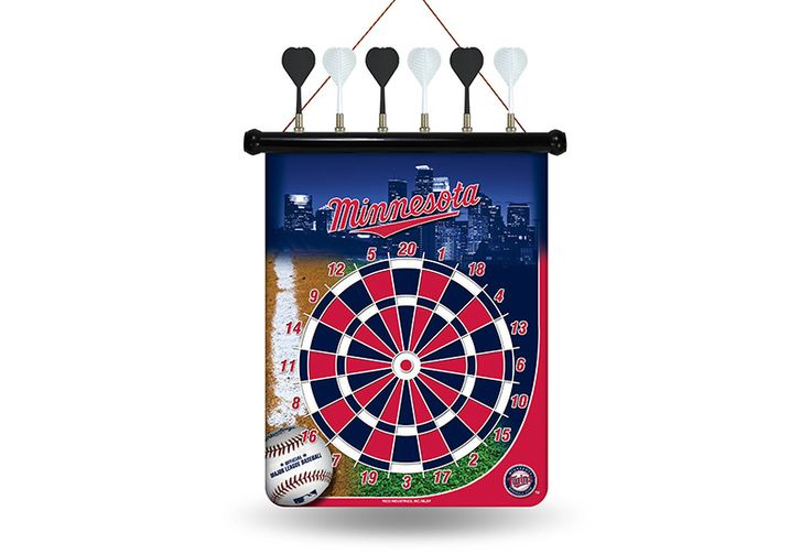MLB Minnesota Twins Magnetic Dart Board
