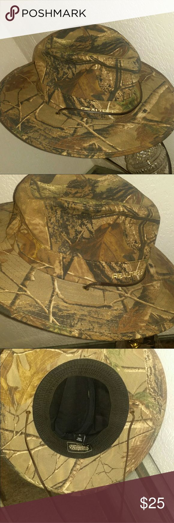 Selling this Men's real tree hat camouflaged fedora on Poshmark! My username is: frederick80. #shopmycloset #poshmark #fashion #shopping #style #forsale #real tree  #Other