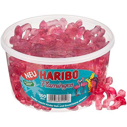 Haribo Flamingos, Bears, Winegums, Fruit Gums, Sweets, Bo