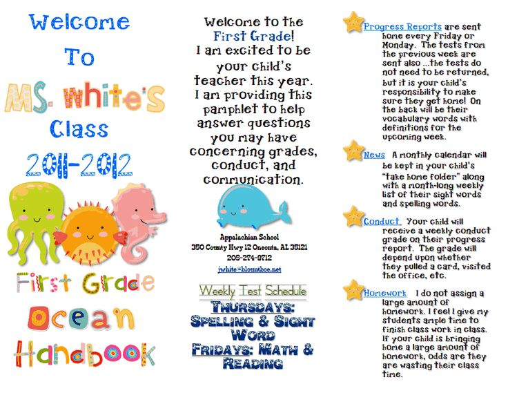 The  Best Open House Brochure Ideas On   Curriculum