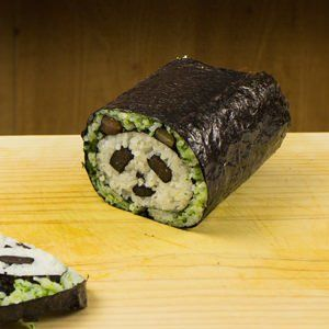 How to make panda sushi rolls - Learn how to create stunning sushi dishes with the guidance of self-taught sushi chef, Davy Devaux.