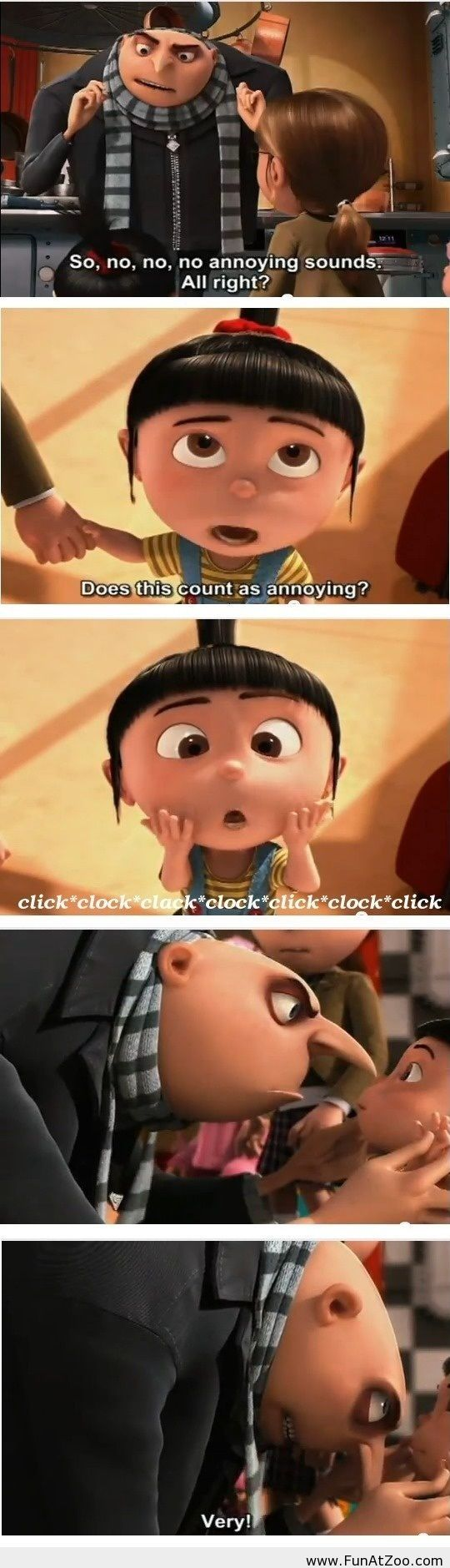 This little girl from Despicable Me is awesome - Funny Picture