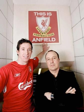 January 2006 and Rafa brings Robbie Fowler home