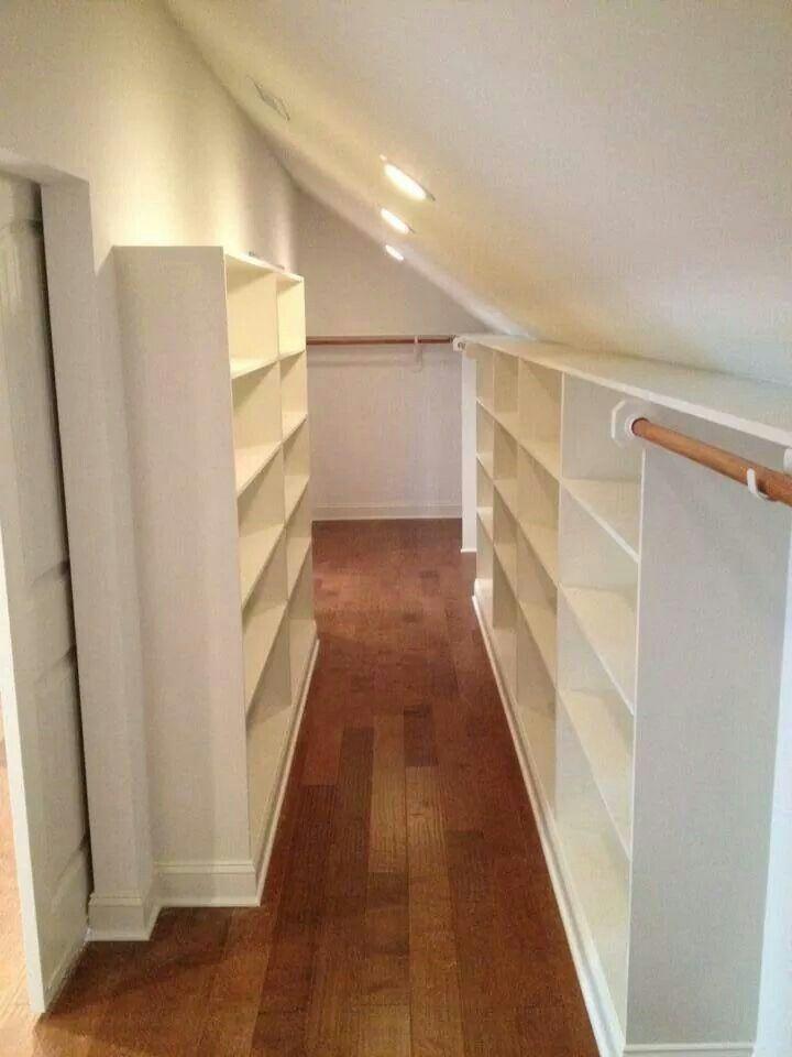 Apex, Nc unfinished attic, Finished - Custom Closet