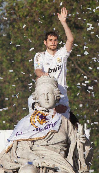 Iker Casillas - Real Madrid Celebrate Winning La Liga