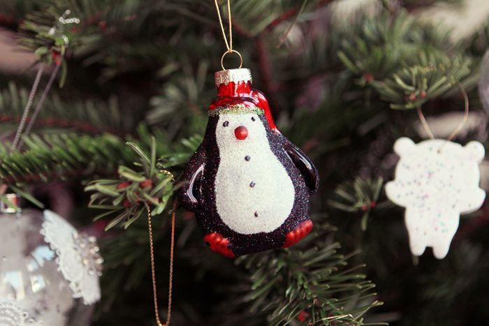 Urban outfitters décoration christmas pinguin | Poulette Magique