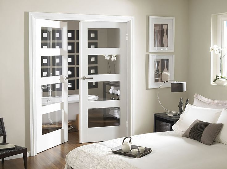1000 images about internal doors on pinterest - White glass panel internal doors ...