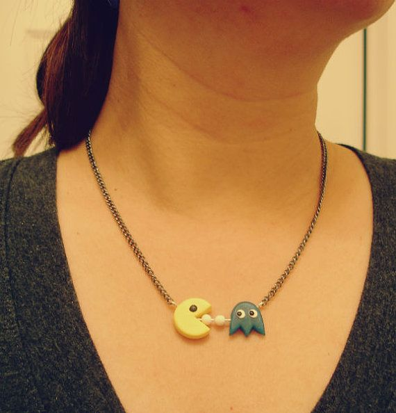Hey, I found this really awesome Etsy listing at https://www.etsy.com/listing/117033490/guo-guos-handmade-polymer-clay-pac-man