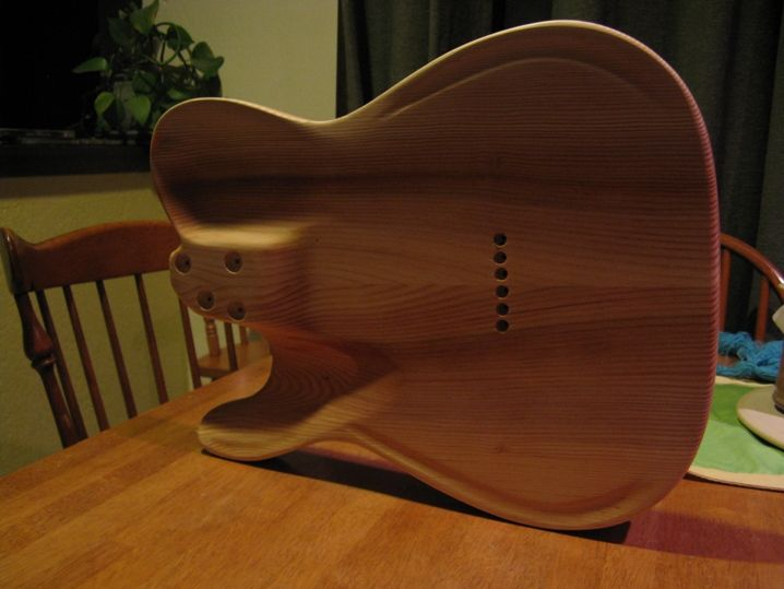 56 best guitars images on pinterest guitars bass and electric adding contours to a tele body ccuart Gallery