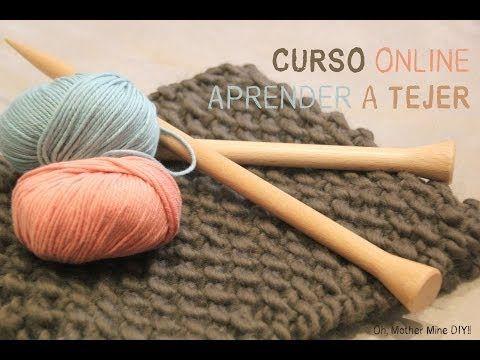 Curso online gratis Aprender a tejer 3: Puntos básicos.