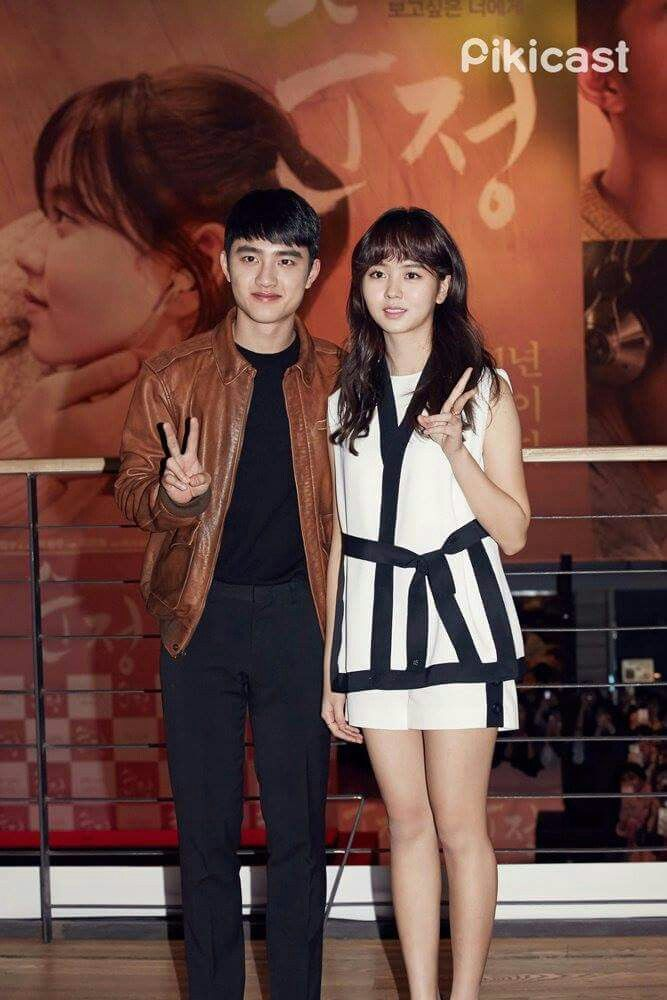 "Kim SoHyun & Do KyungSoo for 'Pure Love""  *I love this two, they look like brother and sister :3"
