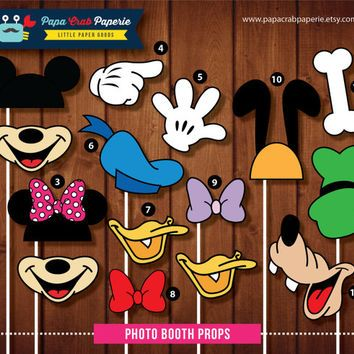 disney photo booth kit - Google Search