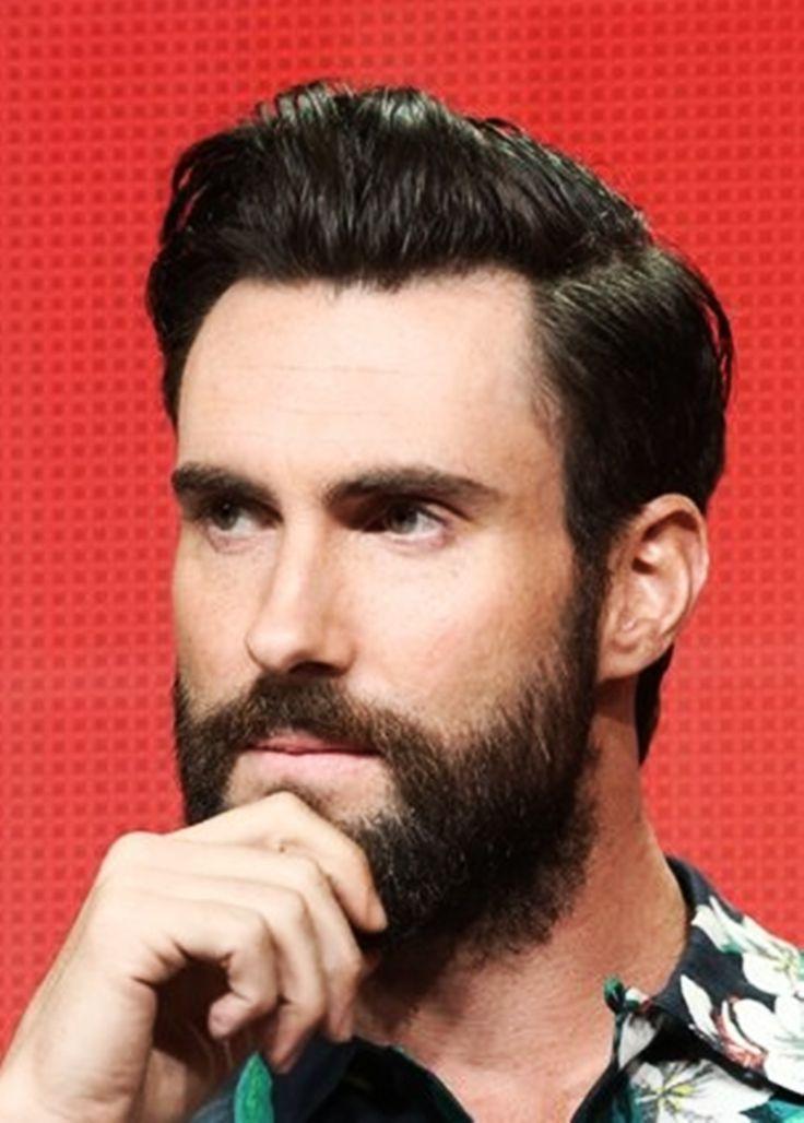 Adam Levine…and a beard