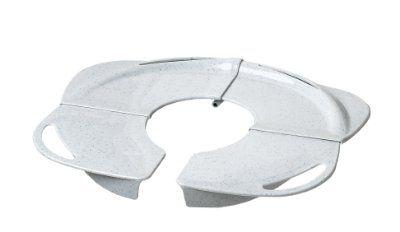 PRIMO Folding Potty with Handles, White granite:Amazon:Baby