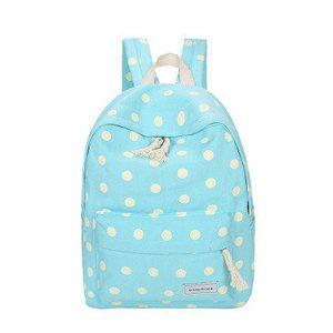 Рюкзак в горошек для девушки