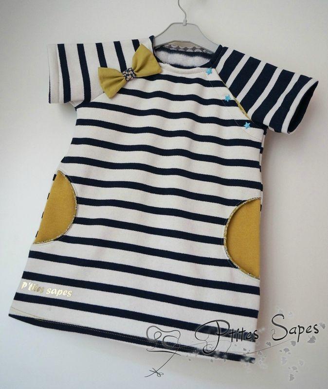 Petite robe Marine by Les P'tites Sapes
