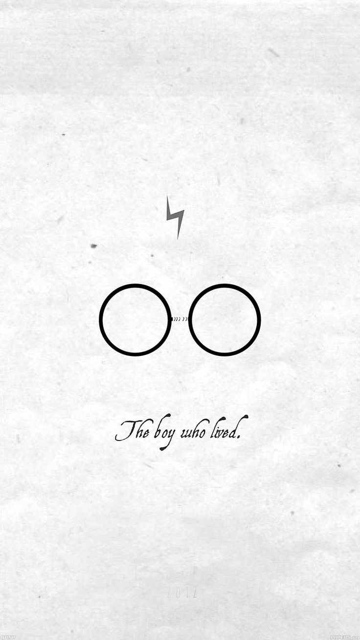 harry potter minimalist iphone wallpaper.