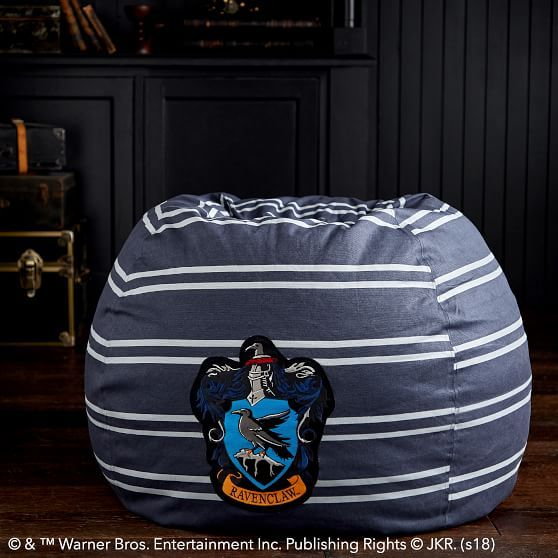 Fine Ravenclaw Navy Beanbag Nerding It Out Bean Bag Harry Andrewgaddart Wooden Chair Designs For Living Room Andrewgaddartcom