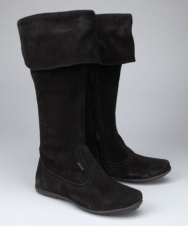 Take a look at this Black Vivienne Boot by Primigi on #zulily today!