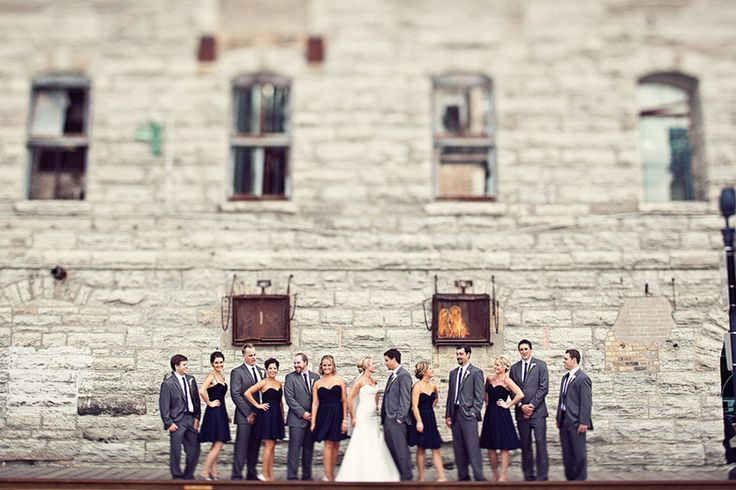 mill city wedding party