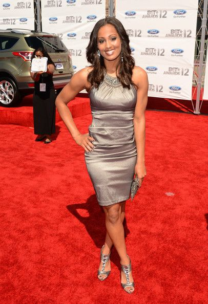 Skylar Diggins arrives at the 2012 BET Awards at The Shrine Auditorium on July 1, 2012 in Los Angeles, California.