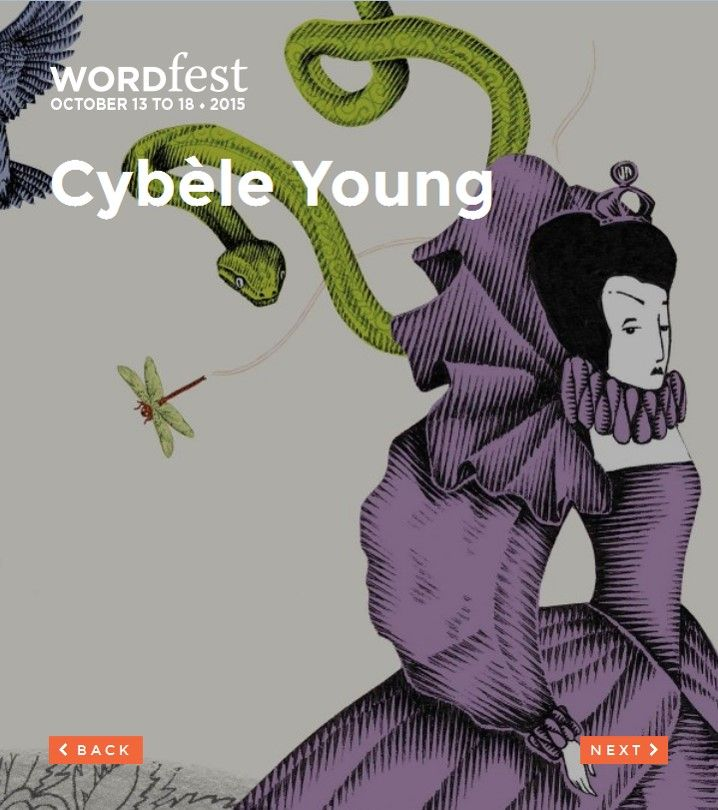 Presented at Wordfest Youth 2015: ENGLISH - GRADE K-6.  Cybèle Young is an internationally renowned artist, represented by galleries in New York, London, Vancouver and Calgary.  Young creates miniature sculptural works from fine Japanese papers. What results are works that emerge from familiar motifs abstracted by passing impressions. Read more at http://wordfest.com/artists/youth-authors/cybele-young?cid=7