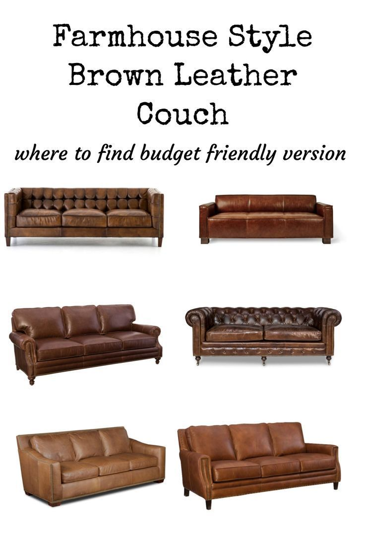 Room Redo Rustic Farmhouse Style Country Living Rooms Living Room Leather Farmhouse Couch Farmhouse Style Living Room