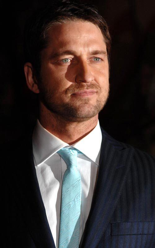 The wildly handsome Gerard Butler..