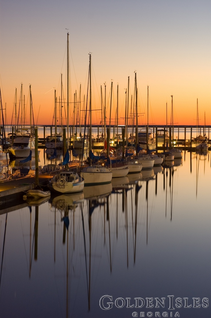 Wh where is the golden isles - Morningstar Marina Golden Isles Georgia At Sunset