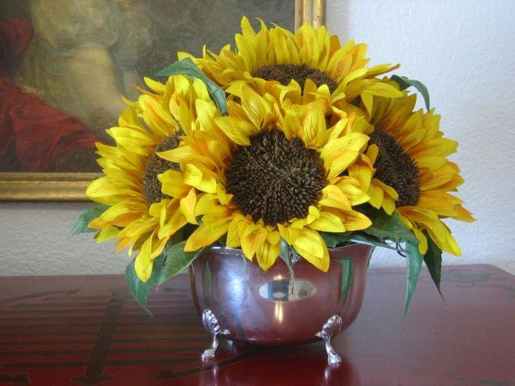 Best images about sun flower arrangement ideas on