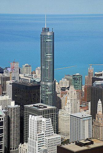 Trump International Hotel & Tower - 1,362 ft / 415 m | 96 floors. Pinned by #CarltonInnMidway - www.carltoninnmidway.com