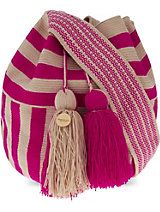 GUANABANA Wayuu crochet shoulder bag
