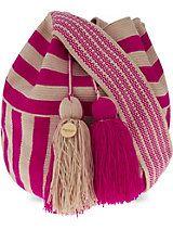 GUANABANA Wayuu crochet shoulder bag