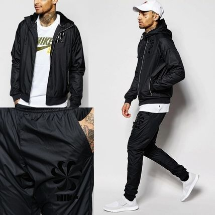 即完売★上下2点セット【Nike】Tracksuit Set Black 822870-010