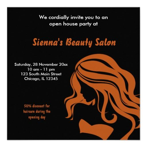 Best Salon Open House Ideas Images On   Grand Opening
