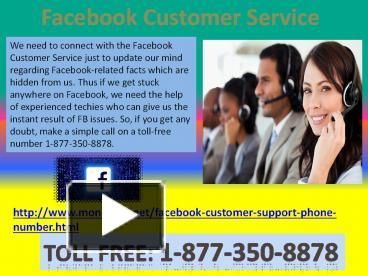 Gain Facebook Customer Service 1-877-350-8878 to Make an Invitation Card on FBIf you don't know how to create an invitation card of your marriage, birthday party or start-up business, then don't feel dishearten as you will be guided in an ease manner so that you can do it by your own. But firstly you have to put a call at 1-877-350-8878 and stay in touch with technical assistant to grasp our fruitful Facebook Customer Service. For more information…