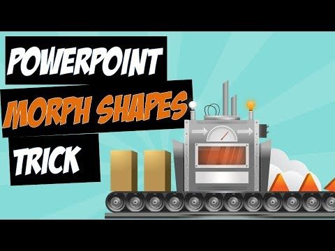 PowerPoint Morph with Slide Background Shapes Trick - YouTube