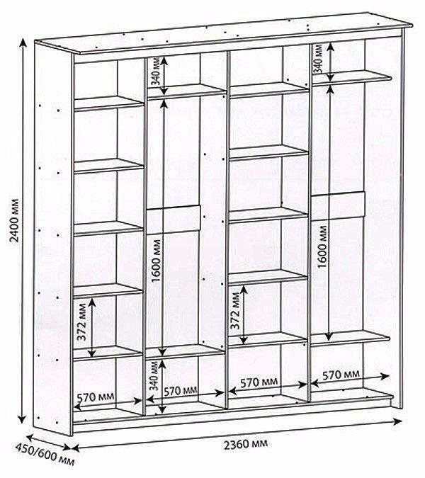 Как своими руками сделать шкаф купе?