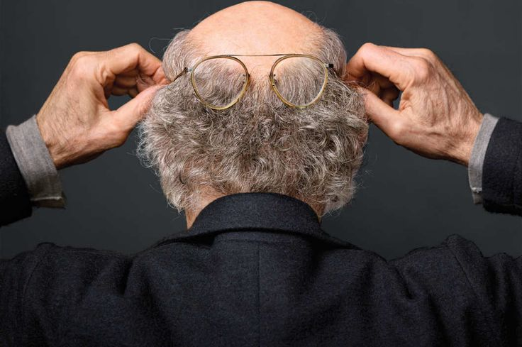 Larry David the Schmuck Was the Best Thing to Happen to Larry David the Mensch: Everyone's favorite curmudgeon is bringing his particular brand of disagreeability to Broadway in a play about the ultimate nothing. Photograph by Martin Schoeller