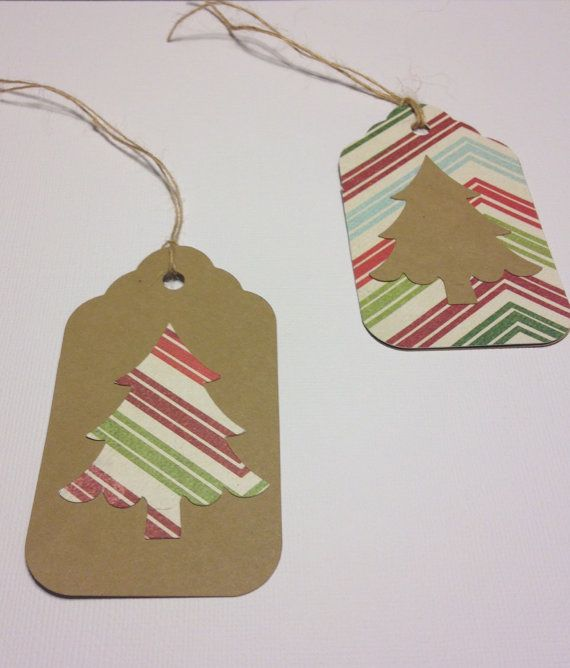 READY TO SHIP  Christmas tags.  Vintage by 2inspiredcrafters