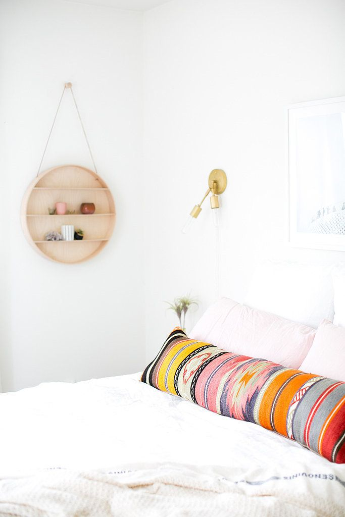 Decorate with a truly statement-making pillow.