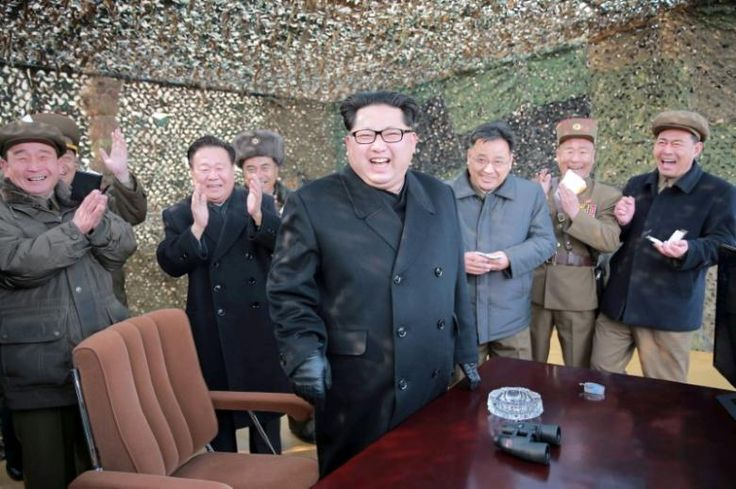 """In three words of a tweet this week, U.S. President-elect Donald Trump vowed North Korea would never test an intercontinental ballistic missile.  """"It won't happen!"""" Trump wrote after North Korean leader Kim Jong Un said on Sunday his nuclear-capable country was close to testing an ICBM of a kind that could someday hit the United States."""