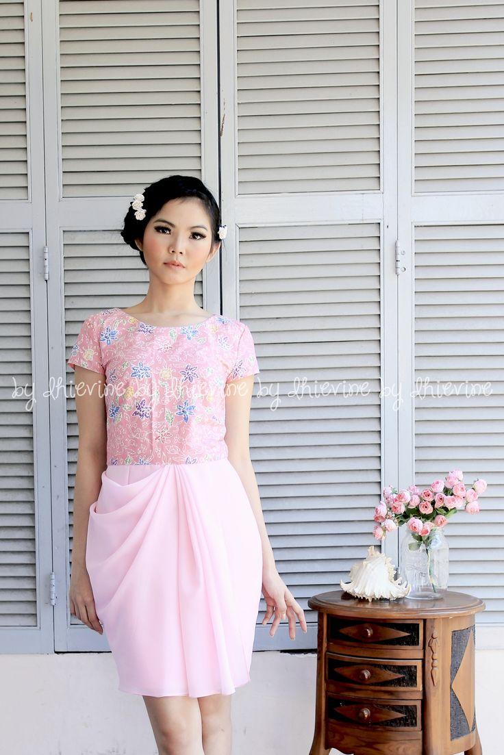 Menur Batik Tulis Dress | DhieVine | Redefine You