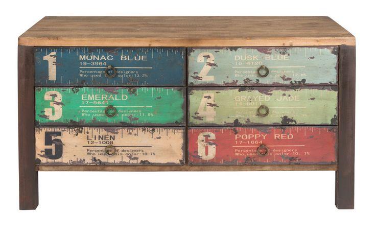 Dressoir xenos moadboard industrieel vintage pinterest dressoir industrieel en vintage - Kledingkast en dressoir ...