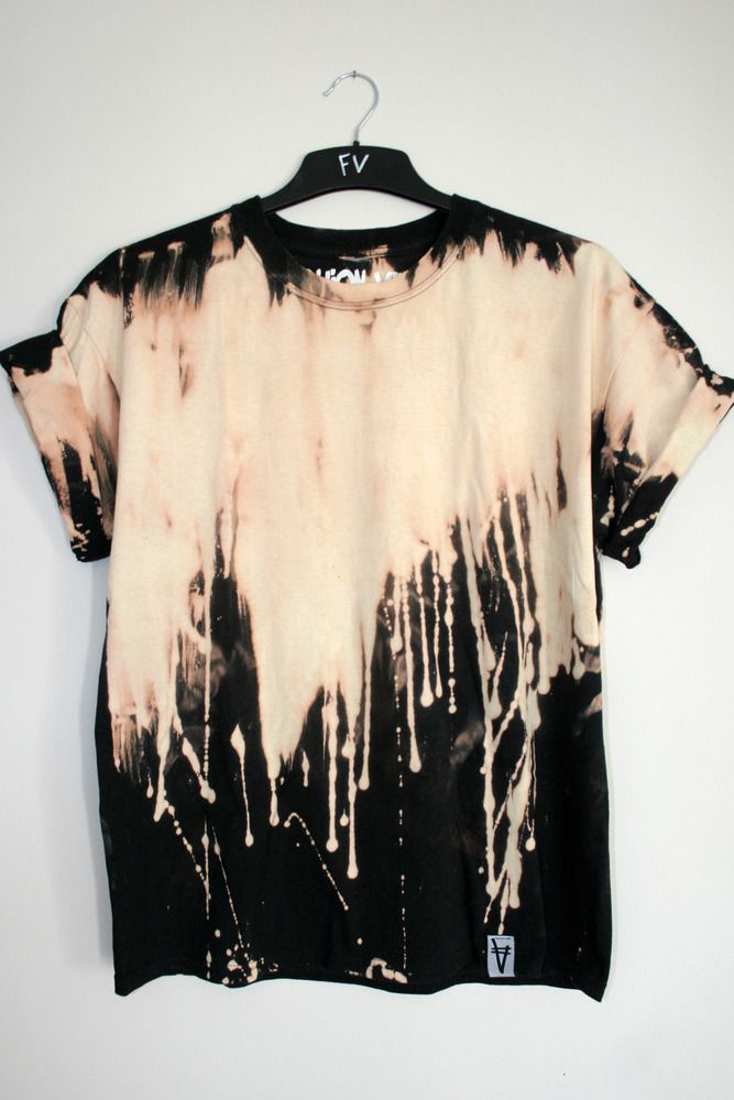 Awesome drip shirt. could probably even DIY that...