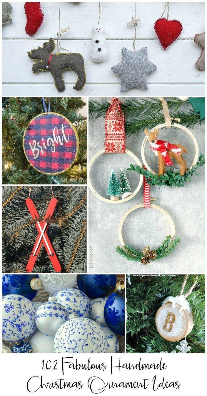 102 Fabulous Christmas Tree Ornament Ideas You Can Make Handmade Christmas Tree Homemade Christmas Tree Handmade Christmas