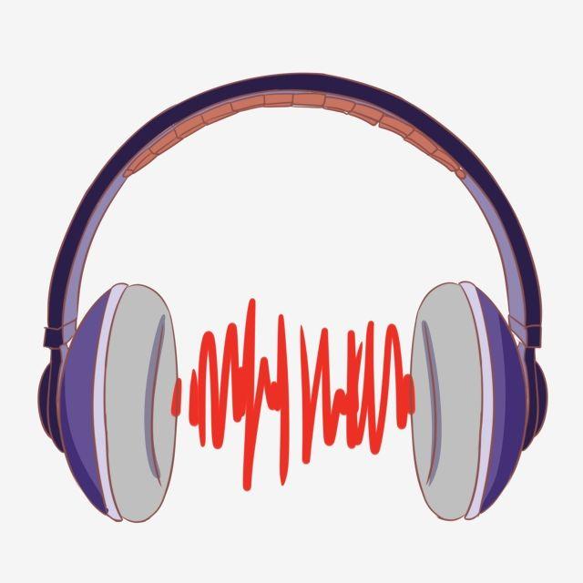 Purple Headphones Decorative Illustration Png And Psd Clip Art Headphones Illustration