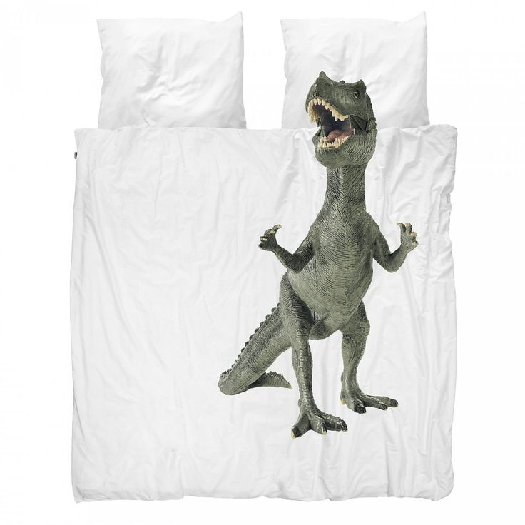 Dinosaurus Rex duvet cover     - Snurk Beddengoed