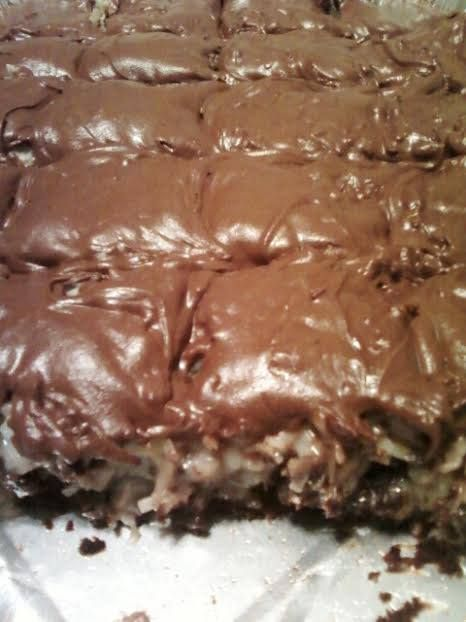 Mounds Brownies ~ Recipe of today